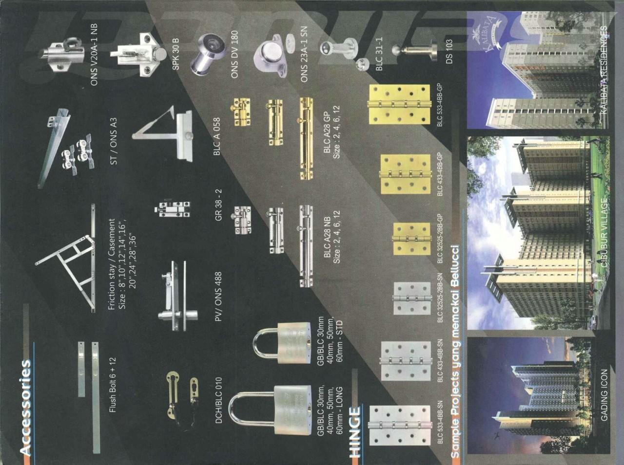 Kerjasama Distribusi Bahan Bangunan & Peralatan Elektrikal