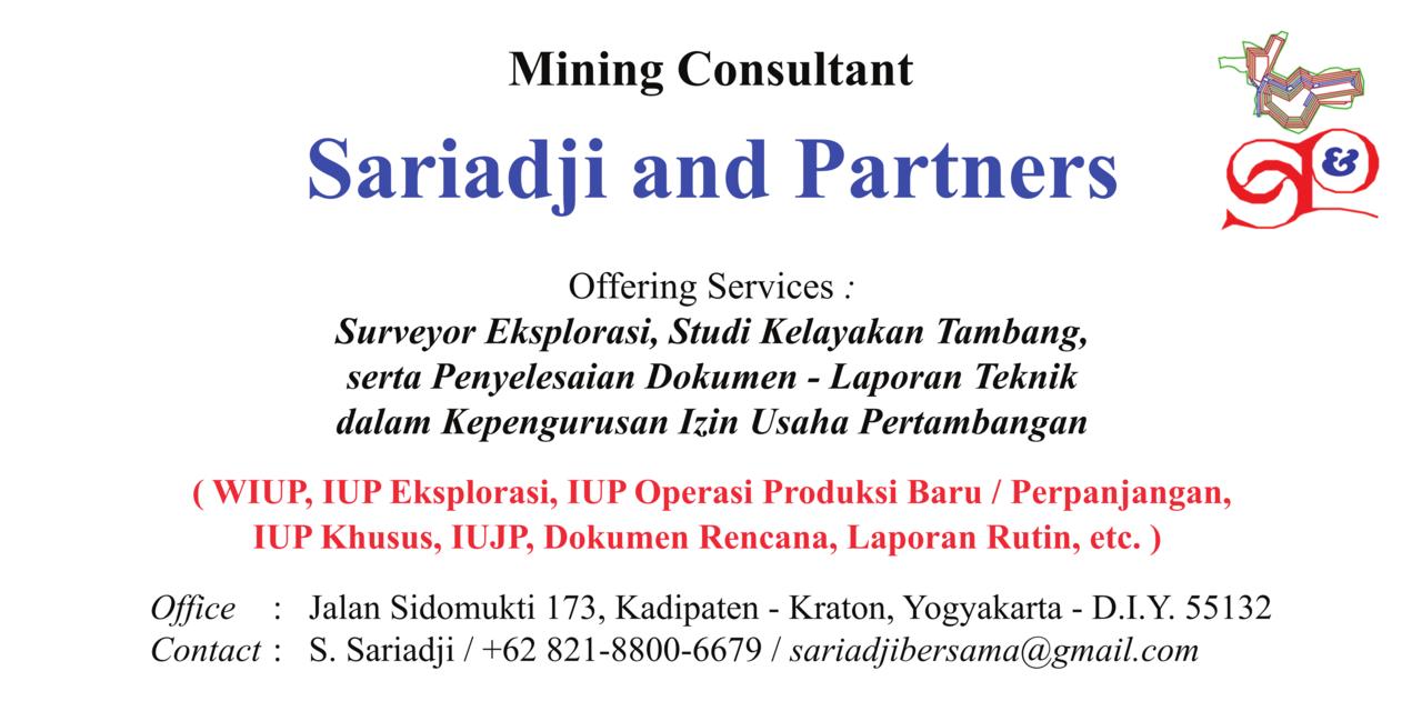 Konsultan Tambang - Surveyor Geologi - Penyusun Dokumen-Laporan Teknik untuk IUP