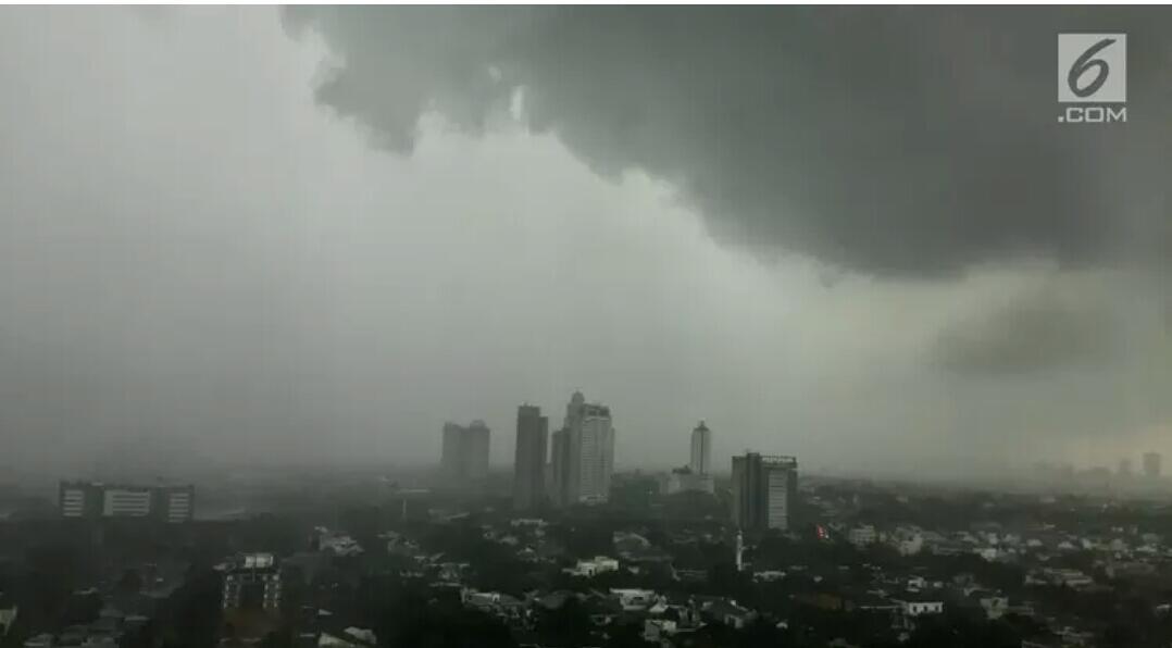 BMKG: Hujan Guyur Jabodetabek Siang hingga Malam Hari