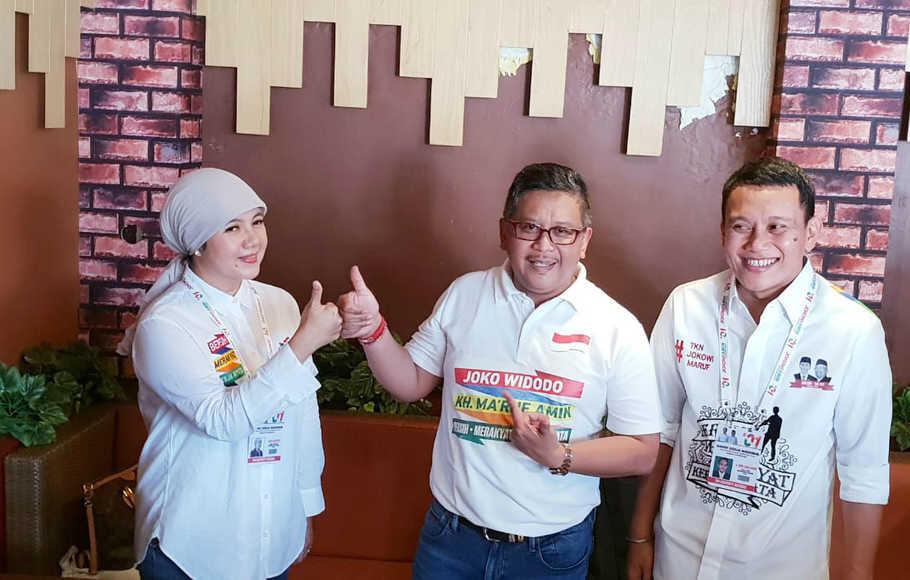 TKN Jokowi-Ma'ruf Amin Perkenalkan Salam Jempol