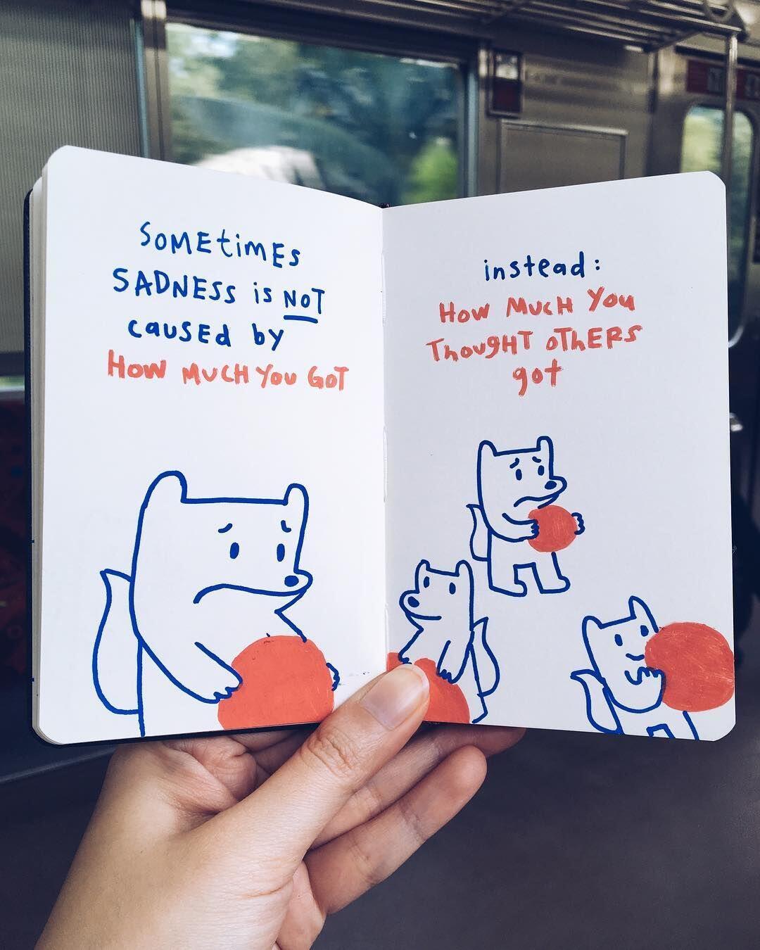 11 Ilustrasi Sederhana Ini Sentil Kehidupan Millennial dengan Akurat