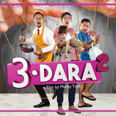 Netizen Ramai Beri Rating Film 3 dara 2