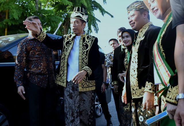 Buka Festival Keraton, Jokowi Tekankan Kearifan Lokal