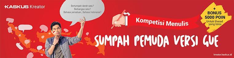 Sumpah Pemuda Kekinian, Indonesia Berani Bersatu!