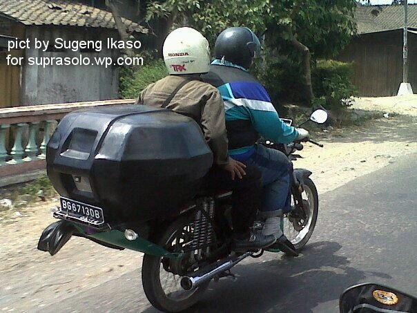 """Pasang """"Box"""" di Motor, Ingat Aturan Maennya Gan"""