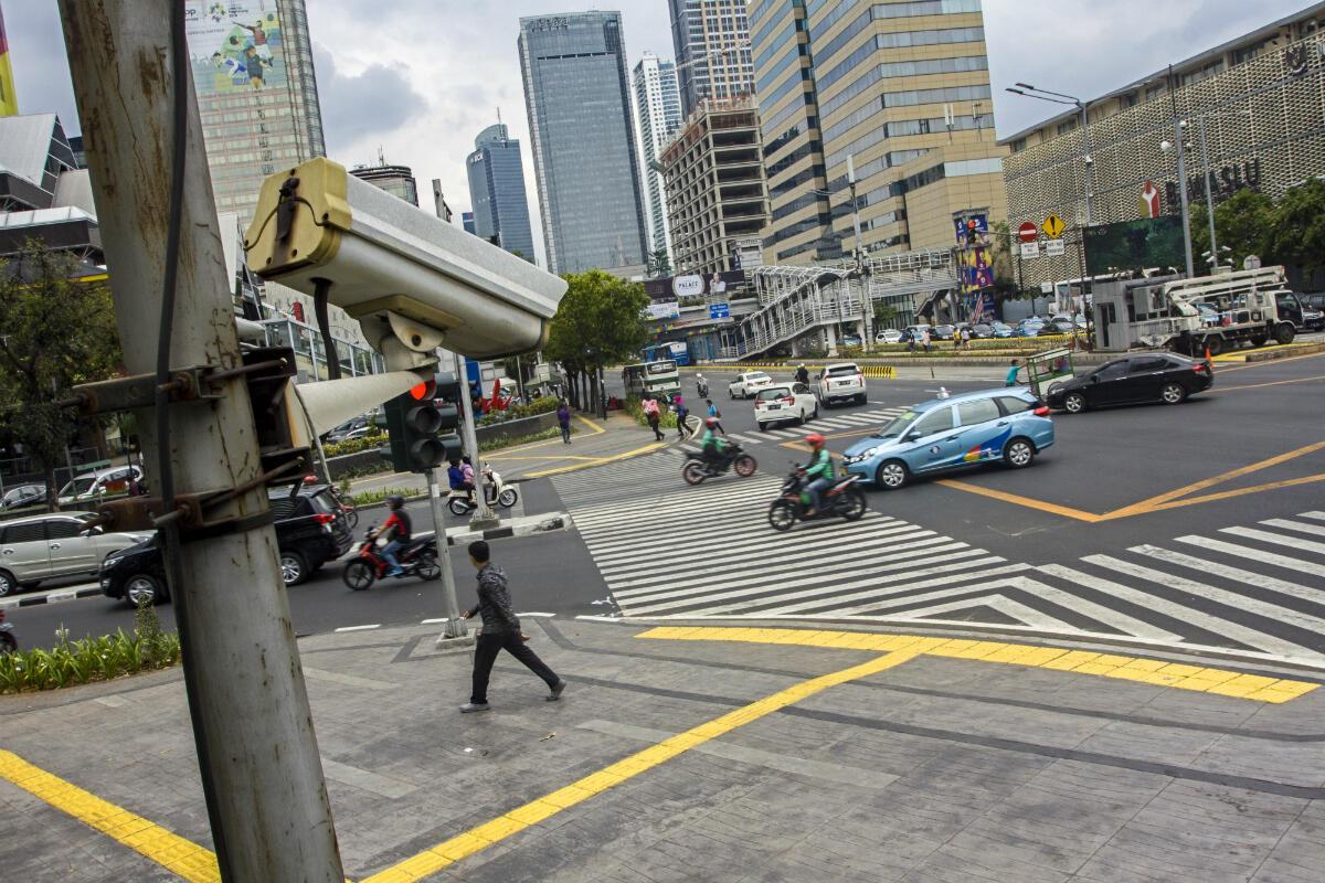 Tahun Depan Polisi Perluas Tilang CCTV di Kawasan Ini Gan ....