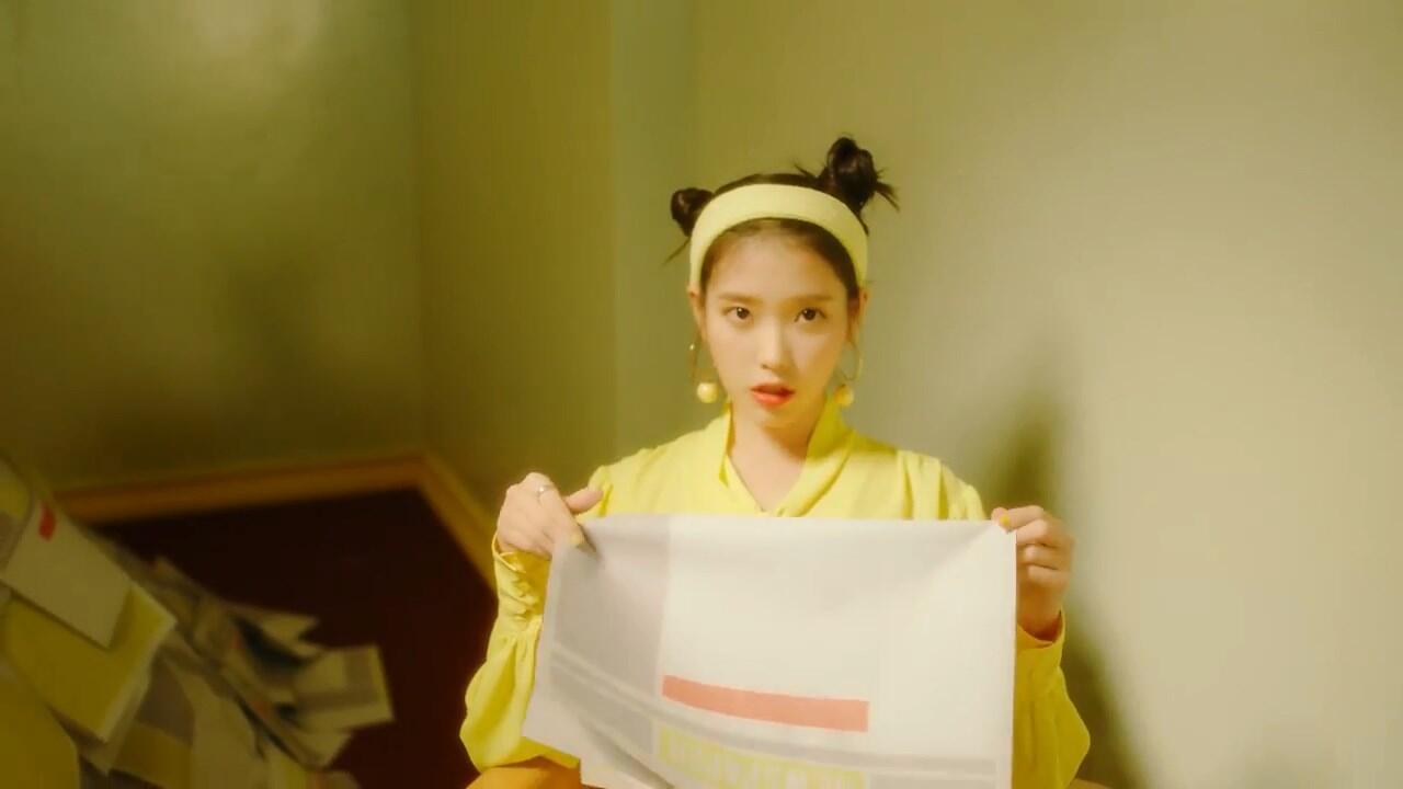 Lima Piala untuk IU dari Acara Musik TV Tanpa Promo Lagu 'BBI BBI'