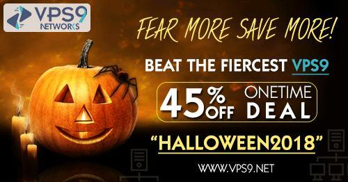 Make Your Halloween More Spooky With VPS9 Haunting Offers