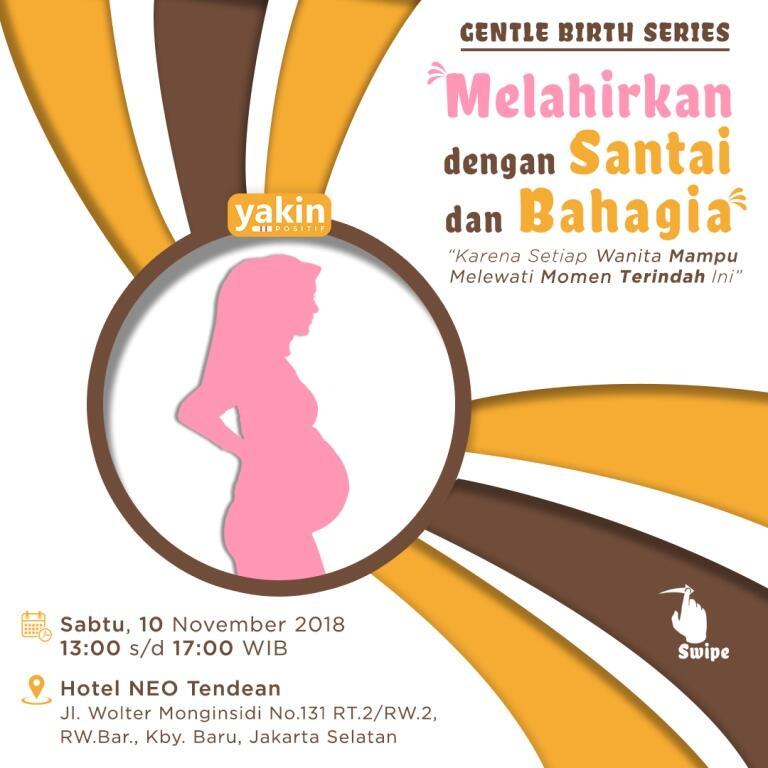 Event Seminar Gentle Birth buat para BuMIL