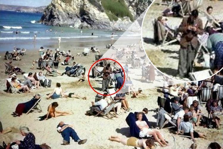 """Foto """"PENAMPAKAN"""" Pria Penjelajah Waktu Di Tahun 1943 Ini Mendadak VIRAL!"""