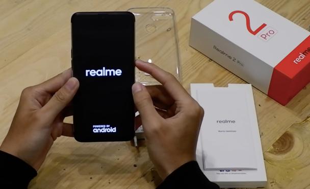 Unboxing dan Menjajal Realme 2 Pro Terbaru Yang didapat dari Lazada