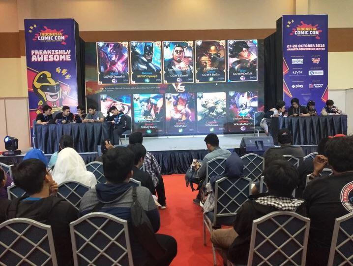 Pecah! Indonesia Comic Con 2018 Meriah Banget Gan