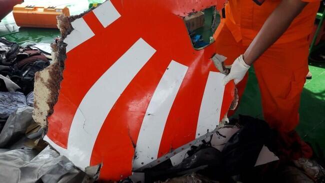 Bagian Tubuh Ditemukan di Lokasi Jatuhnya Lion Air JT 610