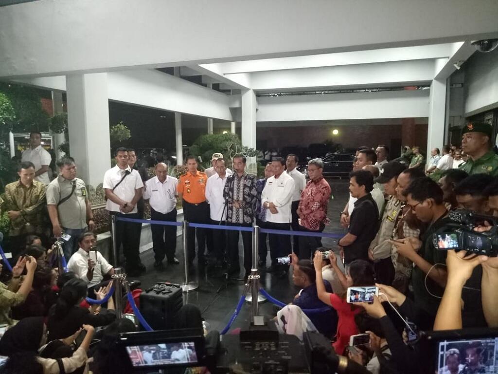 Presiden Menemui Keluarga Korban Lion Air JT610