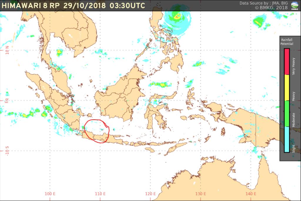 Cuaca Tenang Saat Lion Air Jatuh