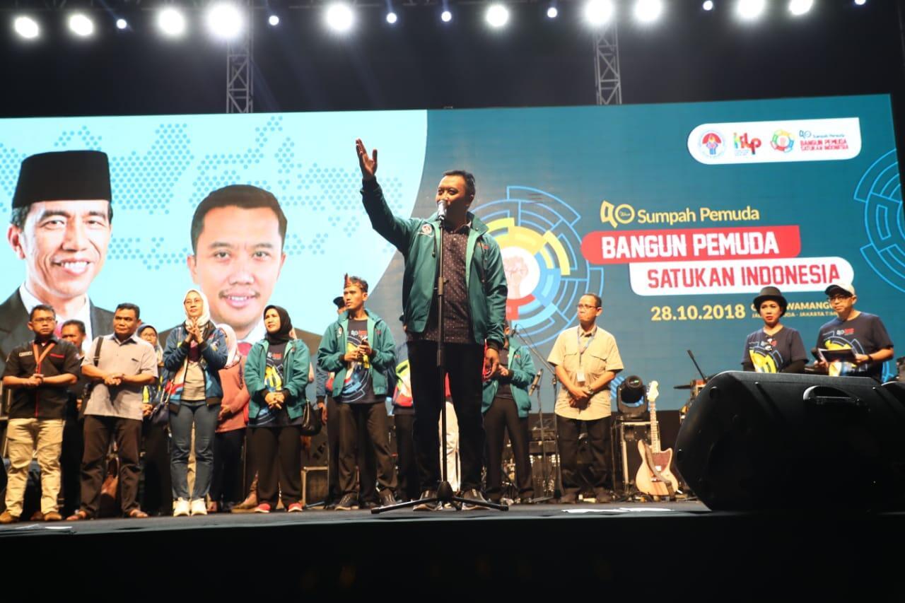 Buka Youth Expo and Festival, Menpora Bangga Atas Capaian Prestasi Pemuda Indonesia