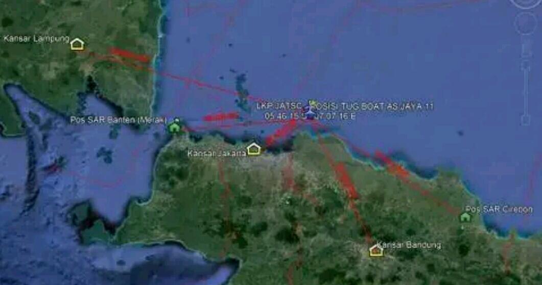 Ada Empat Anggota DPRD di Pesawat Lion Air JT-610 yang Jatuh