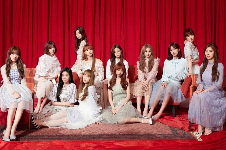 IZ*ONE Resmi Debut Lewat Lagu dan Video 'La Vie En Rose'