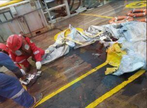 FOTO: Puing-puing Pesawat Lion Air JT 610 Ditemukan