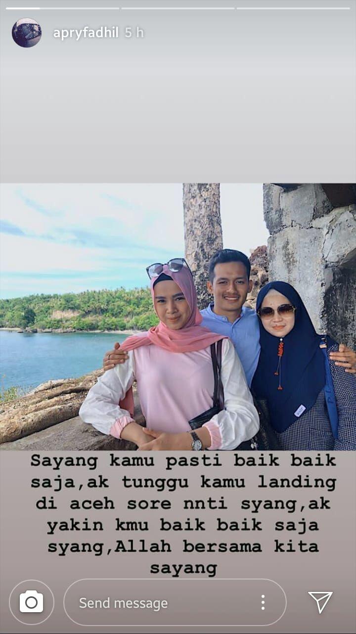 Kisah Cinta Menyentuh & Percakapan Terakhir Pramugari Lion Air JT610