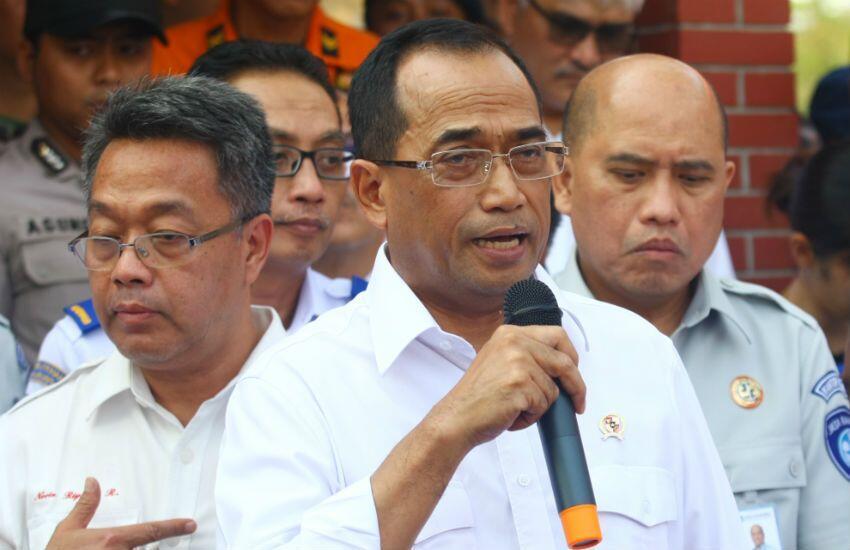 Lion Air Jatuh, Menhub: Tidak Ada Indikasi Kelalaian