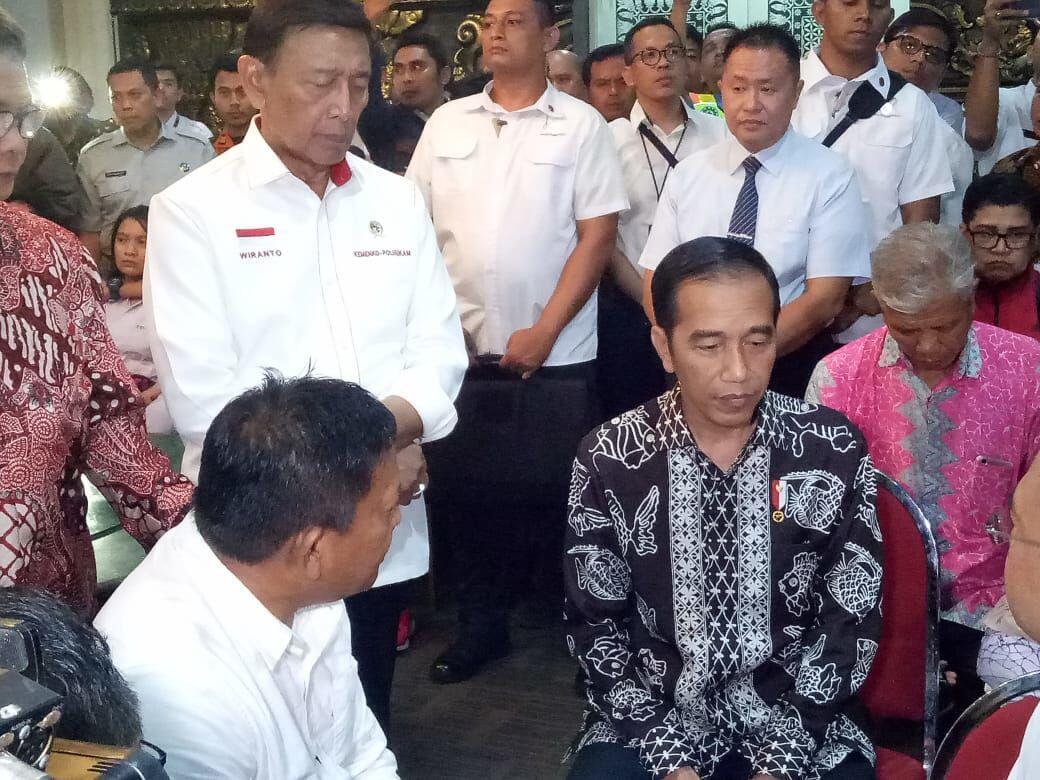 Jokowi Perintahkan Pencarian Lion Air JT 610 Selama 24 Jam