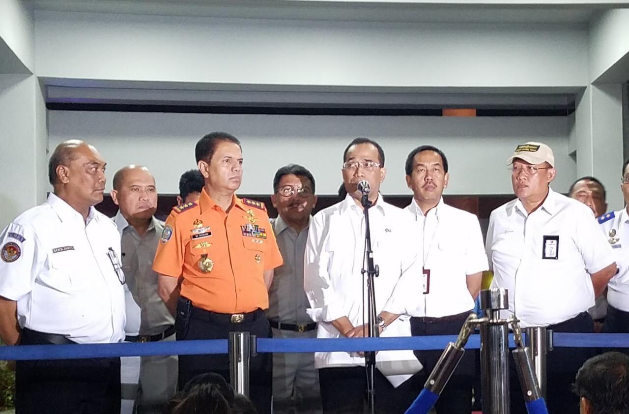 Menhub: Tidak Ada Ledakan Saat Lion Air JT 610 Jatuh