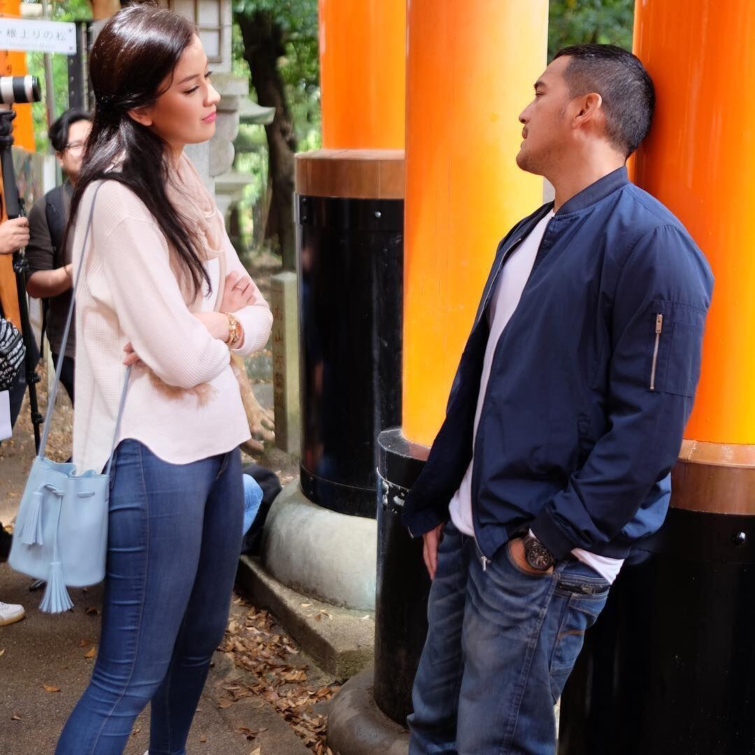 Syuting Bareng, Ini 10 Momen Kimberly Ryder & Mario Lawalata di Jepang