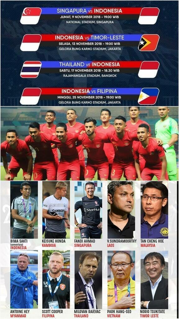 *Piala AFF 2018: 4 Pelatih Jebolan Piala Dunia, Ada yang Lawan Timnas Indonesia