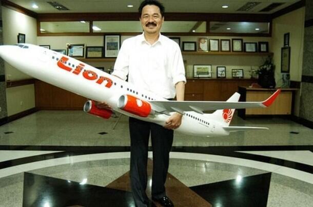 Mengintip Kerajaan Bisnis Lion Air dan Rusdi Kirana