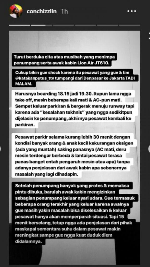 Pengakuan Mengerikan Penumpang Lion Air Saat Masih di Denpasar
