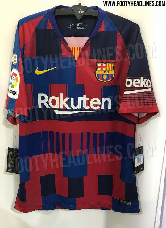 Resmi! Begini Penampakan Jersey Mashup Barcelona