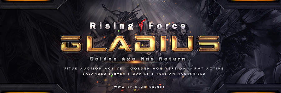 """New Server Coming Soon """"RAPIDLOGIC"""" Powered By RF Gladius Golden Age"""