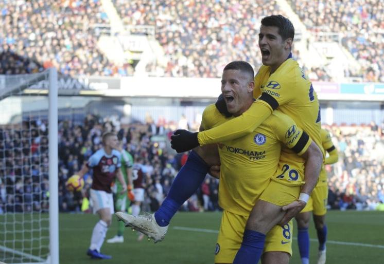Chelsea Pesta Gol ke Gawang Burnley