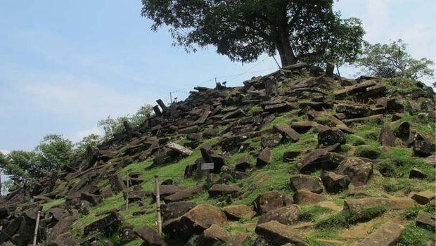 Ini Gunung Padang, Piramida Cianjur yang Ingin Ditata Ridwan Kamil