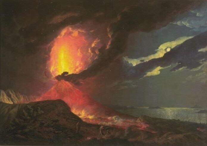 Karya Seni Dari Lava Gunung Berapi
