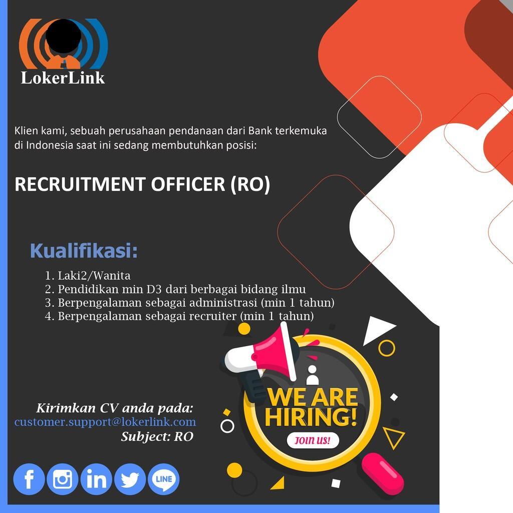 Job Vacancy (JAKARTA)