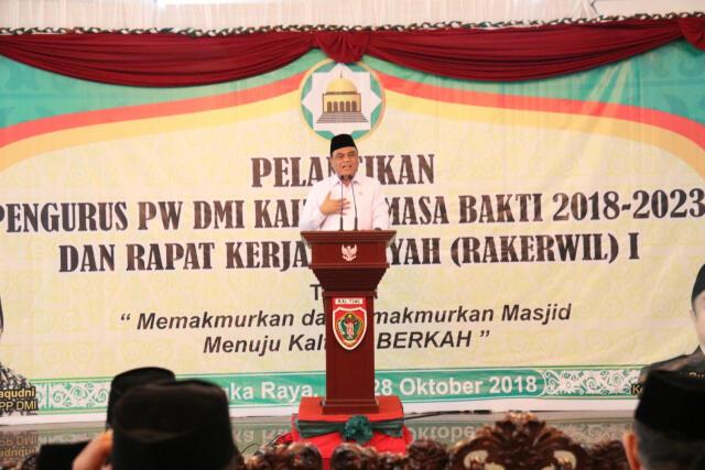 Menteri Syafruddin Dorong DMI Jadikan Masjid Destinasi Wisata Religi