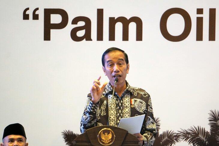 Presiden Jokowi Buka IPOC 2018 Minta Produktivitas Sawit Ditingkatkan