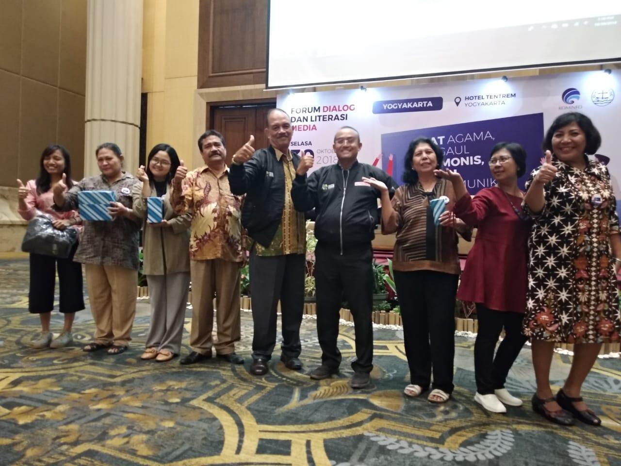 Gandeng PGI Yogyakarta, Kemkominfo Ajak Pemuda Bijak Bermedsos
