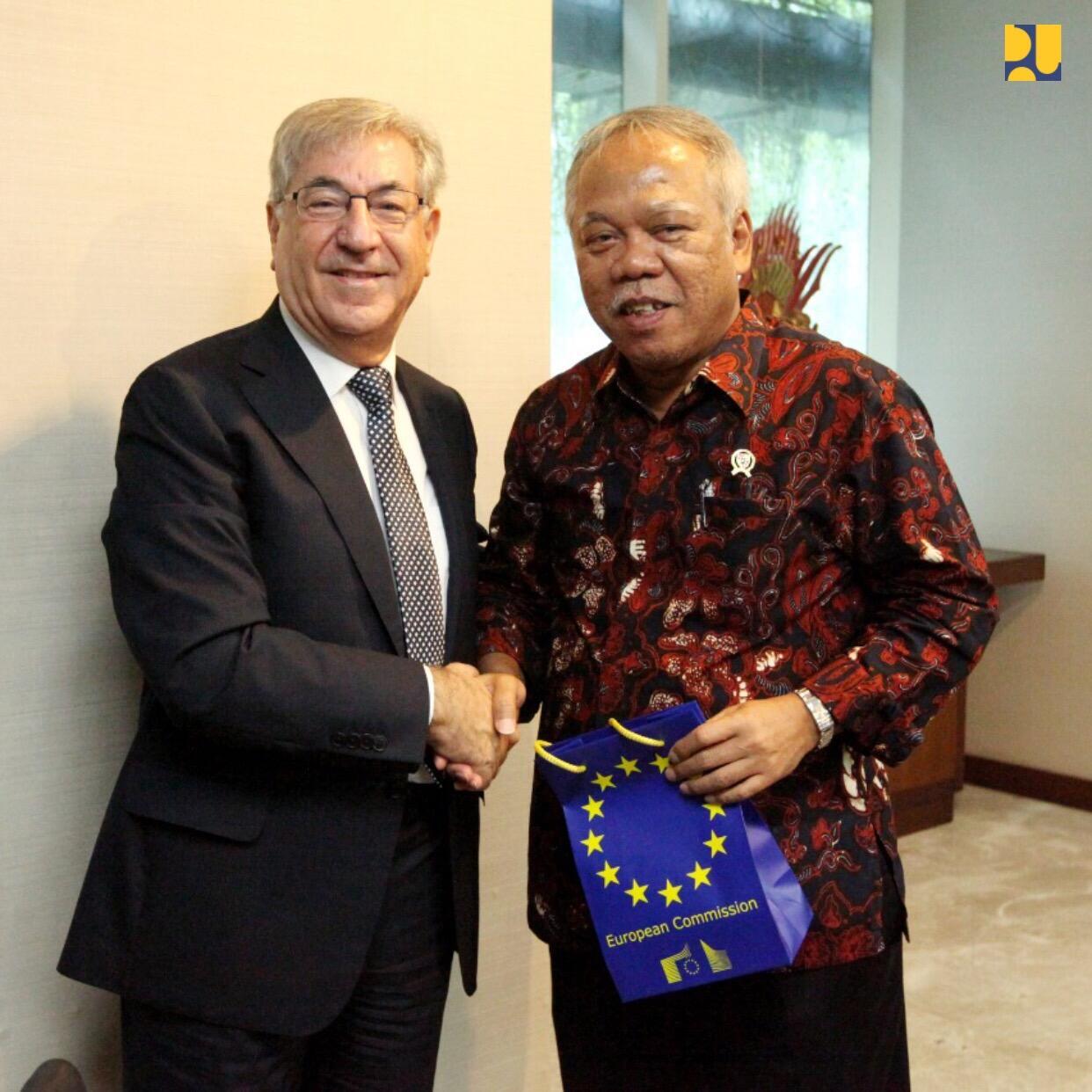 Terima Delegasi Uni Eropa, Menteri Basuki Bahas Peluang Kerja Sama Pengelolaan Sampah