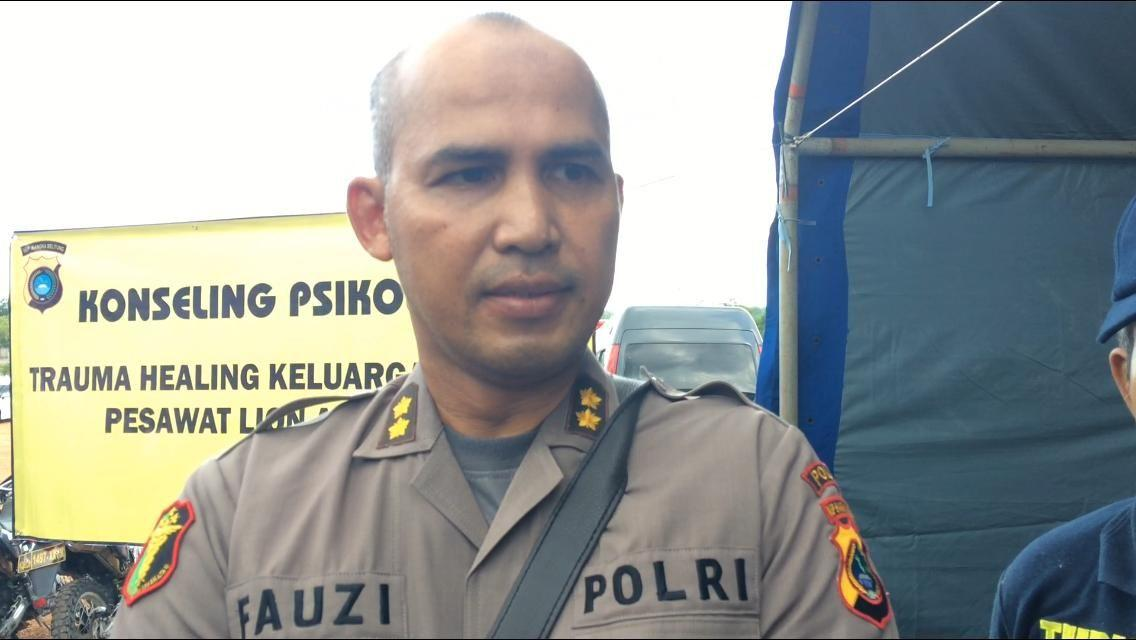 Polda Bangka: 34 Data Ante Mortem Korban Lion Air Sudah Terkumpul