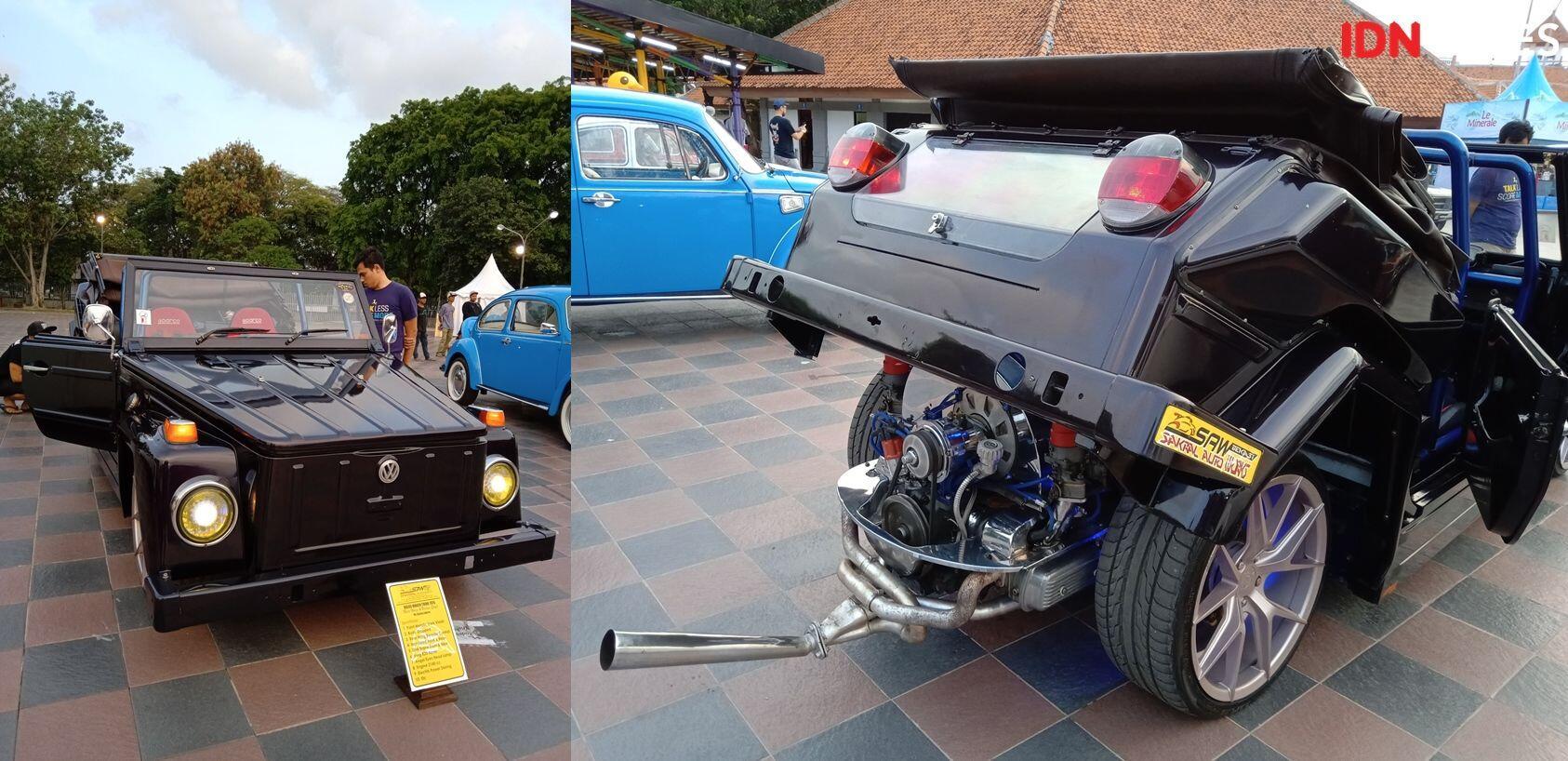 FOTO: Kerennya Mobil-Motor Klasik diJakarta Custom Culture