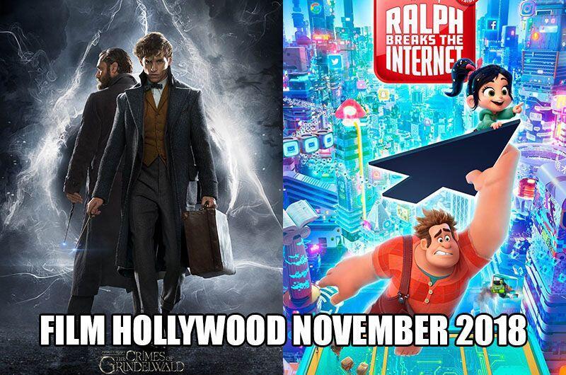 8 Film Hollywood yang Tayang di Bioskop November 2018, Harus Nonton!