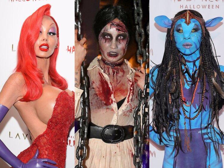 Kostum Halloween para Selebriti Hollywood