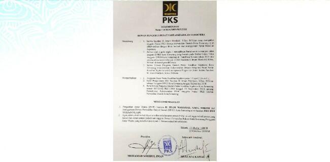Diduga Mesum, Anggota Dewan PKS Dipecat