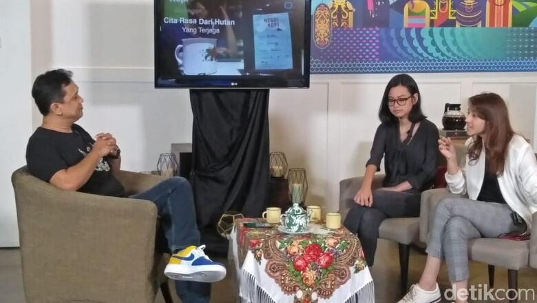 Gustika Hatta Puji Jokowi di Diskusi Anak Muda