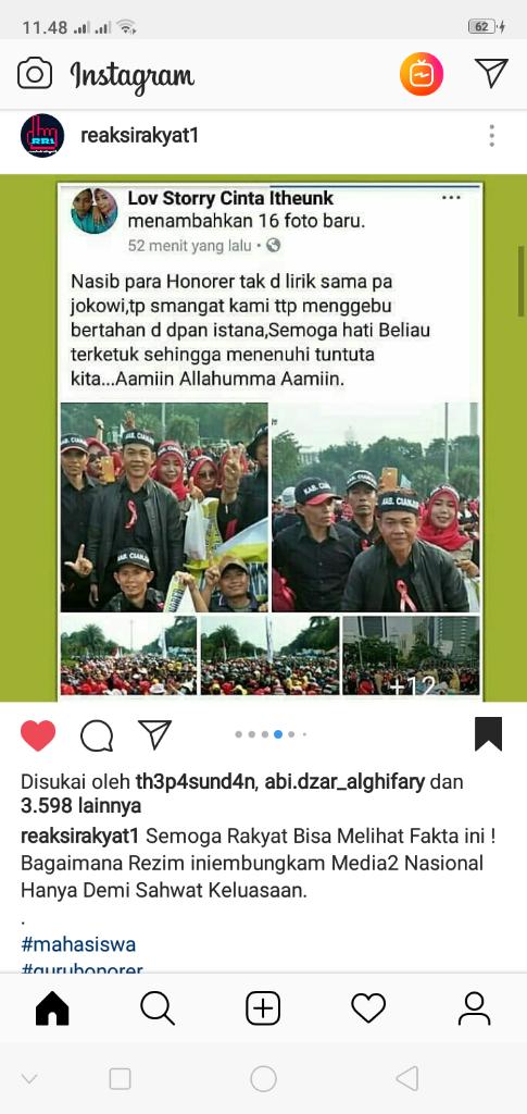 Pak Jokowi, Lihatlah! Honorer K2 Ini Rakyatmu, Pak