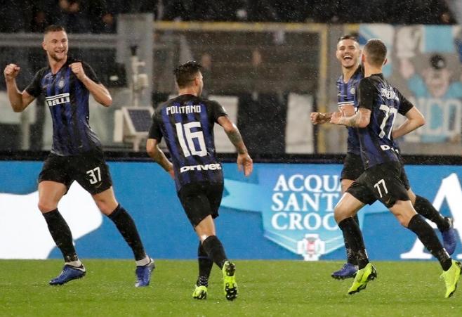 Hasil Serie A: Inter Milan Bantai Lazio