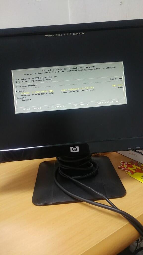 Hardisk tidak terbaca saat install VM Ware